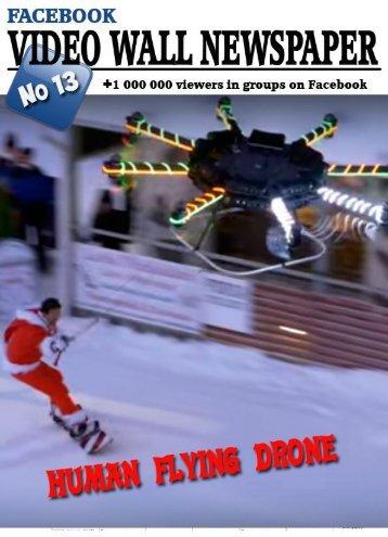 Video wall newspaper for Facebook №13 RU