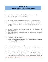 Borang Tuntutan Penceramah Institut Latihan Kehakiman Dan