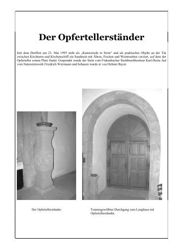 CD-ROM Kirchenchronik - Hefersweiler-Berzweiler und Ingweilerhof