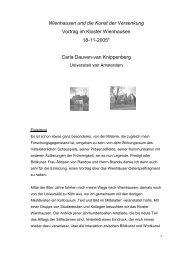 Wienhausen und die Kunst der Versenkung - Universiteit van ...