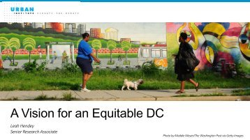 A Vision for an Equitable DC
