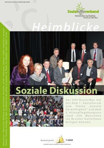 Soziale Diskussion - Sozialhilfeverband Bruck an der Mur