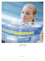 koob 40 jahre - KOOB − Agentur für Public Relations GmbH