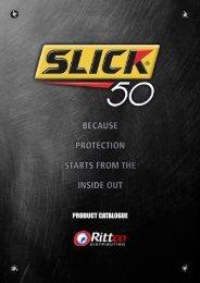 Slick 50 Catalogue (PDF) - Rittco Distributing