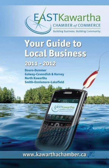 by Business Name - East Kawartha Chamber of Commerce