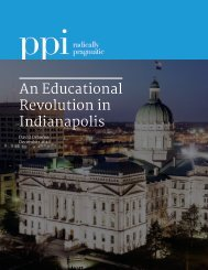 An Educational Revolution in Indianapolis