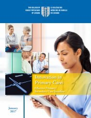 Innovation in Primary Care