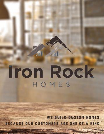 Iron Rock Homes 2017 Specs