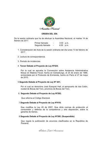 Asamblea Nacional Palacio Justo Arosemena