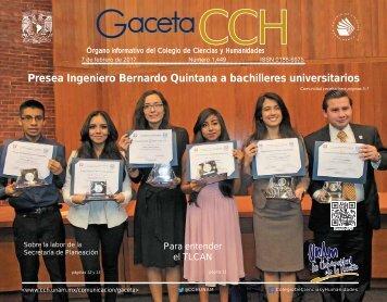 Presea Ingeniero Bernardo Quintana a bachilleres universitarios