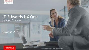 JD Edwards UX One