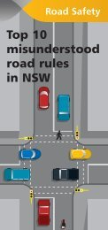 Top 10 misunderstood road rules in NSW