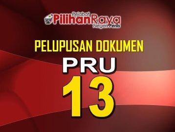 2013 - PELUPUSAN DOKUMEN PILIHAN RAYA