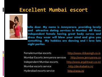 Most Erotic Experience of Mumbai Escorts Are Waiting For You