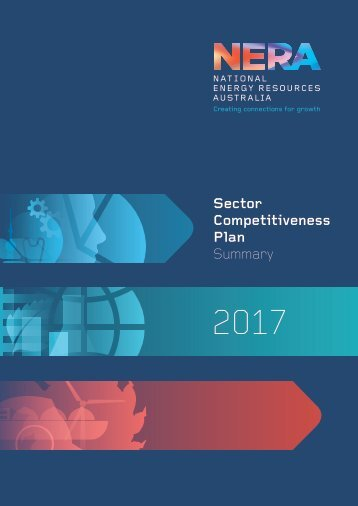 NERA Sector Competitiveness Plan 2017 (Summary version)