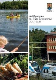 Miljöprogram för Huddinge kommun 2017–2021
