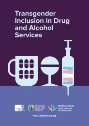 Transgender Inclusion in Drug and Alcohol Services