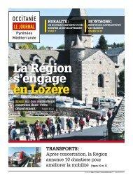 La Région s'engage en Lozère