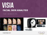 Amazing Benefits of Visia Facial Skin Analysis