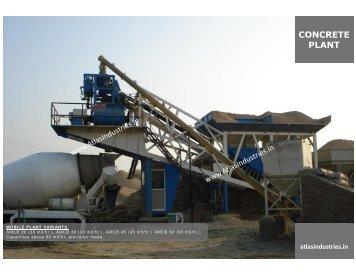 Mobile concrete Plant Manufacturer