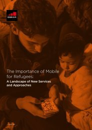The Importance of Mobile for Refugees