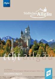 Südliches Allgäu Gastgeberverzeichnis 2017
