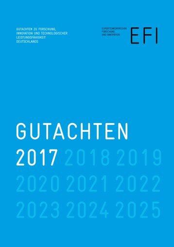 Gutachten 2017 2018 2019 2020 2021 2022 2023 2024 2025