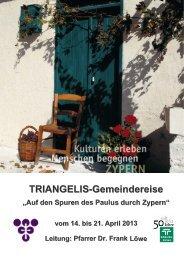 TRIANGELIS-Gemeindereise nach Zypern vom 14. - Biblische Reisen