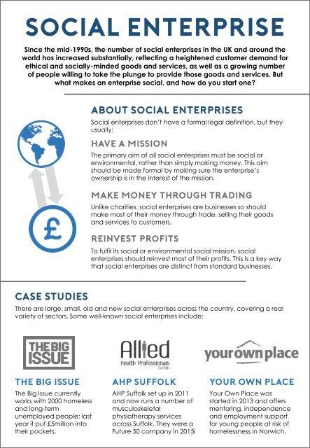 Innovate - UEA Health Sciences - worksheet - social enterprises