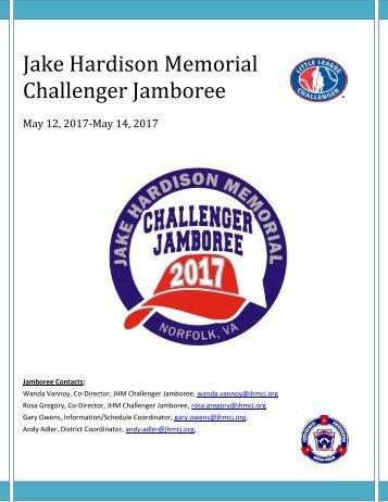 Jake Hardison Memorial Challenger Jamboree