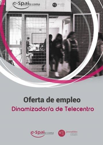 OFERTA DE EMPLEO-JOVESOLIDES