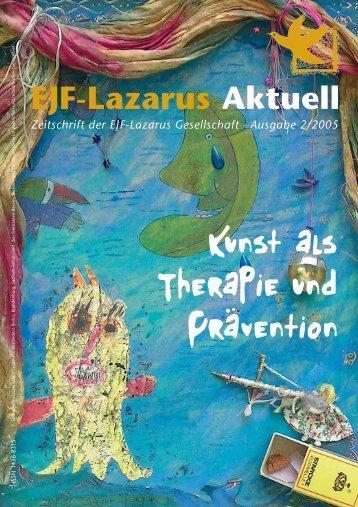EJF-Lazarus Aktuell Zeitschrift der EJF-Lazarus Gesellschaft