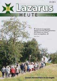 Christi Himmelfahrt in Ersingen - zu den Rittern des Heiligen Lazarus
