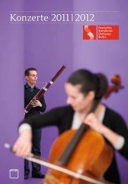Konzerte 2011 | 2012 - Deutsches Symphonie Orchester Berlin