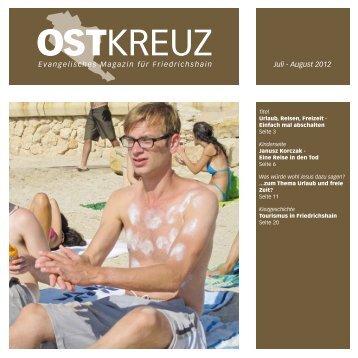 Gemeindebrief – Ostkreuz - Evangelische Gemeinde Pfingst