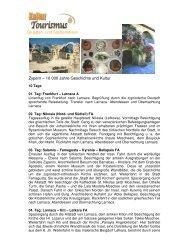 Gruppen- und Studienreisen Zypern - Kulturtourismus Held ...