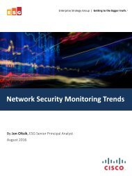 Network Security Monitoring Trends