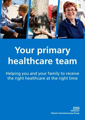 Your primary healthcare team