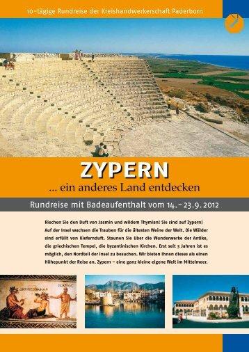 ZYPERN - Kreishandwerkerschaft Paderborn