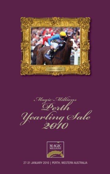 Magic Millions Perth Yearling Sale 2010 - Sirecam