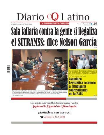 Edición 15 de Febrero de 2017