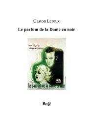 Le parfum de la dame en noir - La Bibliothèque électronique du ...