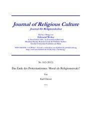 relkultur162.pdf - Goethe-Universität