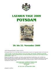 Neue Ritter des Lazarus-Ordens Internationales Treffen in Potsdam ...