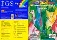 Schulzeitung Nr. 55 - Paul-Gerhardt-Schule Kahl