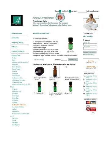 Ashbury's Aromatherapy
