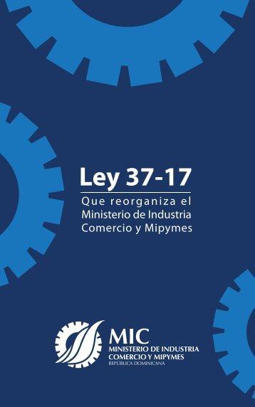 Ley 37-17