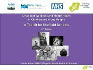 A Toolkit for Sheffield Schools