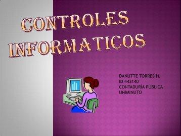CONTROLES INFORMATICOS