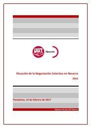 Situación de la Negociación Colectiva en Navarra